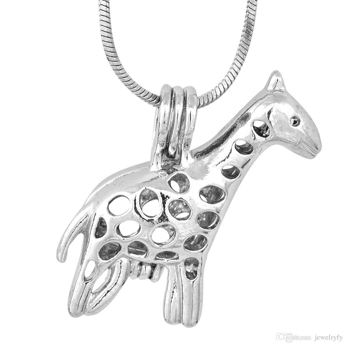 sterli giraffe product exclusivity pendant by mini sterling silver