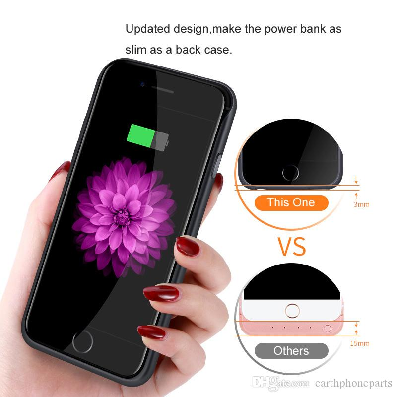 Battery Case For iPhone 6 s 6s 3500/4000mAh Power Bank Charing Case For iPhone 6 6s 7 Plus Battery Charger Case Cover