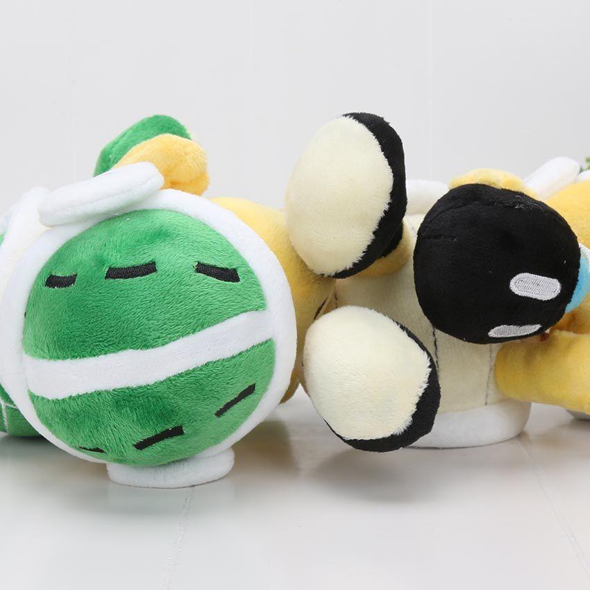 / ensemble 18 cm Super Mario Bros Bombe Bro Koopa Troopa Boomerang marteau Doux Peluche Jouet Poupée Super Mario jouets