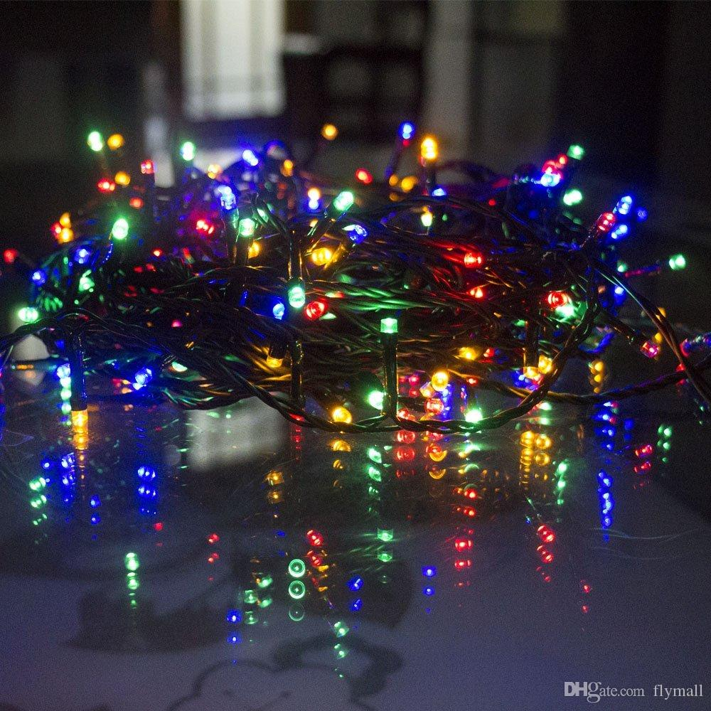 Battery Operated LED String Lights Multi color 8 Modes 200 LED Waterproof String Light for Christmas Garden Wedding Party Decoration