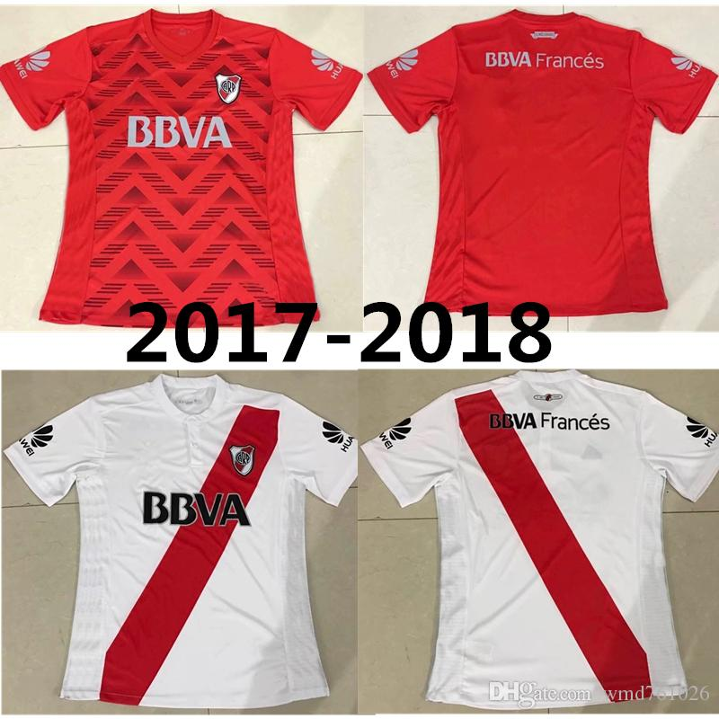 2017 Argentina New Club Atletico River Plate Kit Season Jersey River Plate  Jerseys 17 18 Best Quality Jerseys Canada 2019 From Wmd761026 1036fa1cc