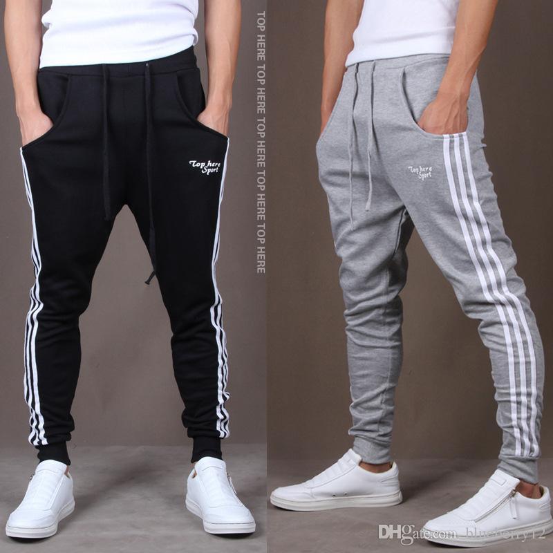 Jogger Pantolon Spor Yeni Marka Erkek Joggers Rahat Harem Sweatpants Spor Pantolon Erkekler Gym Dipleri Parça Eğitim Koşu