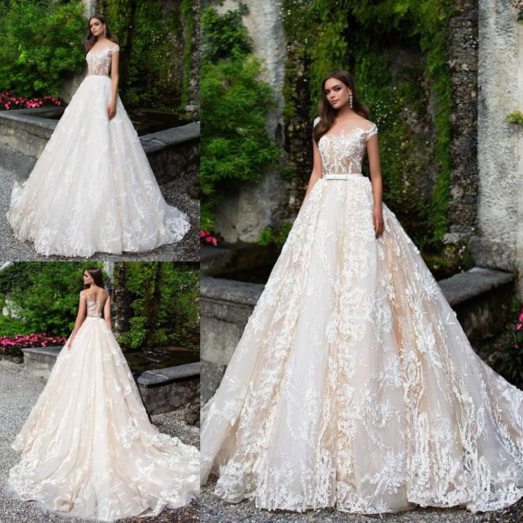 Discount Milla Nova Backless Wedding Dresses With Detachable Skirt A ...
