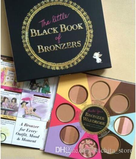 too faced bronzer palette. too faced new the little black book of bronzers palette bronzer wardrobe blush cheek highlighter cosmestics best highlighters bronzing from