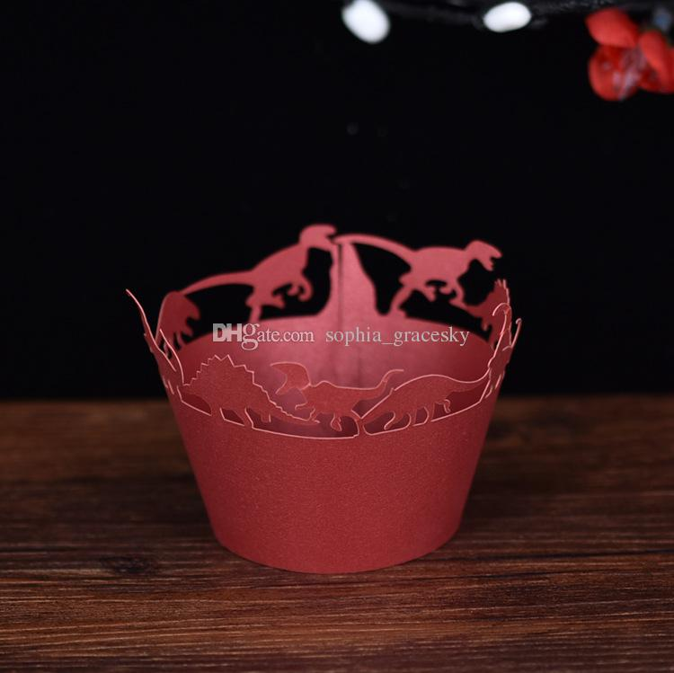 Laser Cut Halloween Cupcake Wrappers Baking Cakes Wrappers