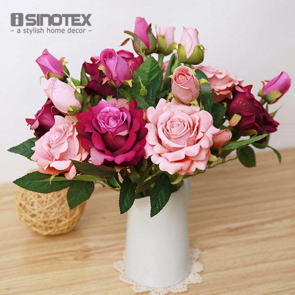 Artificial Flowers For Wedding Decoration Mariage Birthday Party