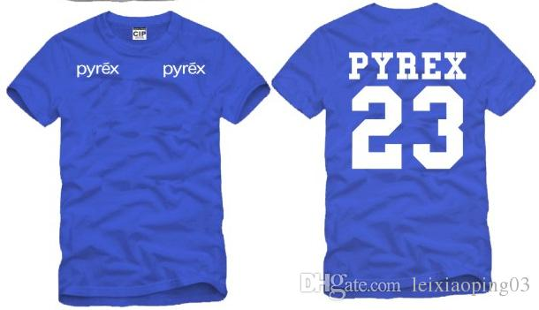 mens t shirts fashion 2017 pyrex vision logo t shirt Cotton short sleeves tee shirts hip hop t shirt