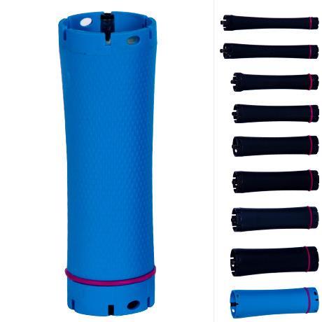 SEYARSI Hot Sale PTC Hair perm roller, Rod, Curler, 36v Output, Size 27 blue