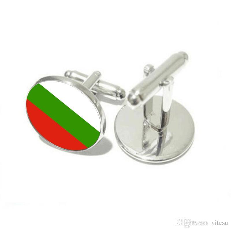 Toptan Cam Manşet Gömlek Düğmeleri Kaptan Bulgaristan Bayrağı Kol Düğmesi Anahtarlık Giyim Erkekler Hediye Için Sıcak Belçika Bayrağı Kol Düğmeleri ...