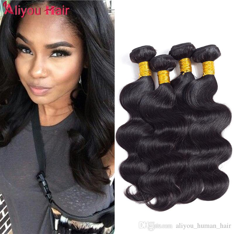 Daily Deals Peruvian Body Wave Hair Weaves Wholesale Hair Extensions