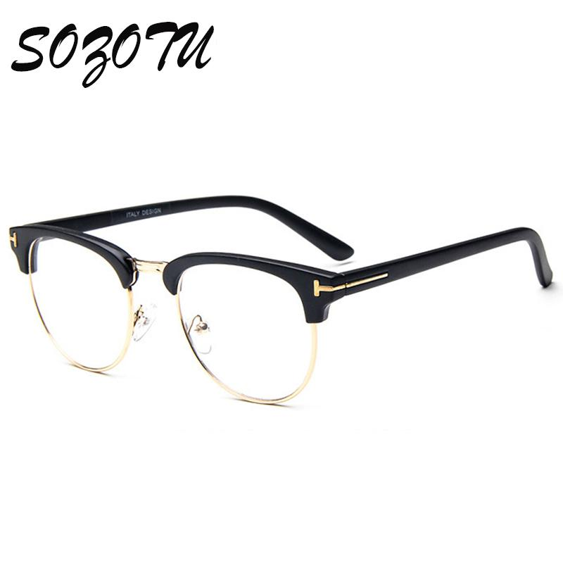 2018 Wholesale Eyeglasses Frame Women Men Optical Computer Eye ...