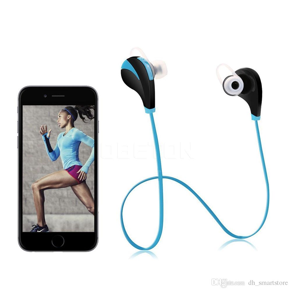 G6 Bluetooth 40 Sport Earphone Hand Free Wireless Headset Earbud Headphone With Extended Curvature On Wiring Speakers Sports In Ear For Iphone 6 7 Samsung Huawei