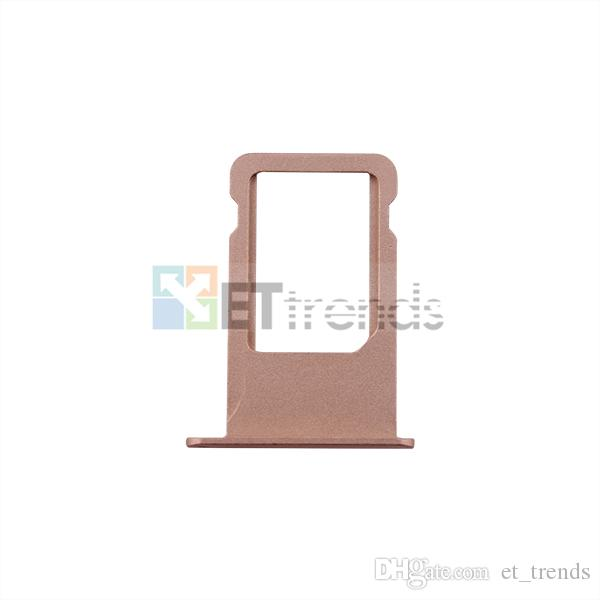 original new For iPhone 6S plus Sim Card Tray Holder Slot Sim card holder Kit-gold,silver,space grey;Rose Gold DHL