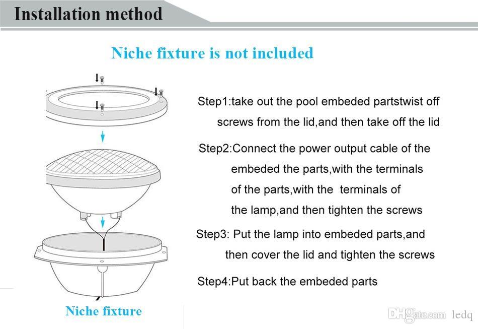RGB Par56 СВЕТОДИОДНЫЕ Фонари для Бассейна Лампа 12 В 18 Вт 24 Вт 35 Вт 12 Вольт IP68 Водонепроницаемый Подводные Огни для Фонтана Пруд Пруд Искусственный Водопад CE