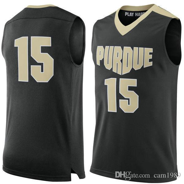2018 2017 no15 purdue boilermakers men college basketball jersey embroidery athletic outdoor apparel mens sport jerseys size s 3xl from cam1989