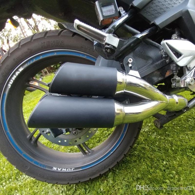 Модифицированные выхлопные трубы 51 мм Универсальная выхлопная труба для мотоцикла из нержавеющей стали с подвижным DB Killer Fit Большинство мотоциклов