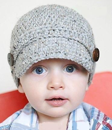 Newsboy Hat Baby Kids Infant Toddler Girl Boys Newborn Autumn Winter Children Beanie Crochet Knitted Skull Cap 100% Cotton Photography Props