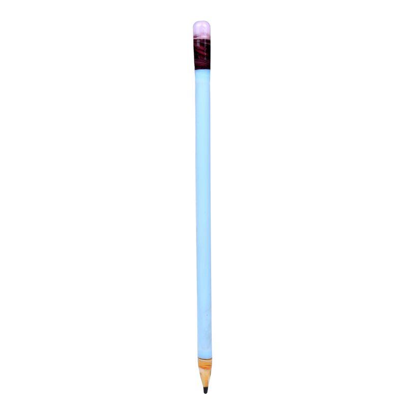 Dabber Toools de vidrio con 7 Pulgadas Amarillo Verde Negro Azul Colorido Grueso Pyrex Vaso de Lápiz Vaporizador Pluma Aceite Cera Dab Tool para SmokingDB-044