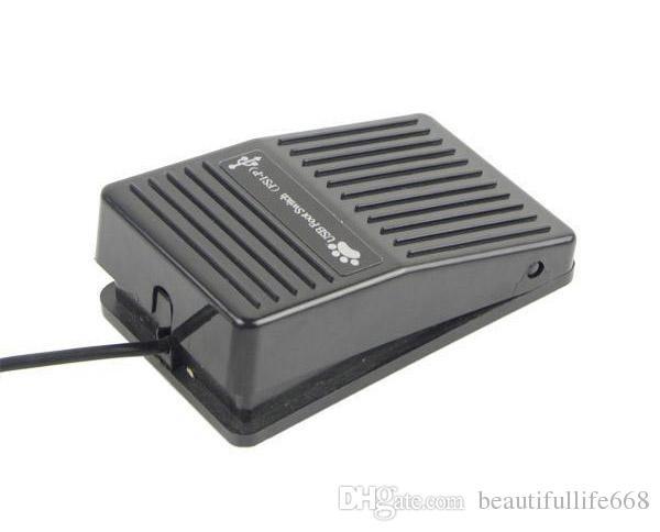 고품질을 가진 Windows 2000 / XP / Vista / 7 리눅스를위한 PC USB 발 스위치 페달 통제 키보드 쥐