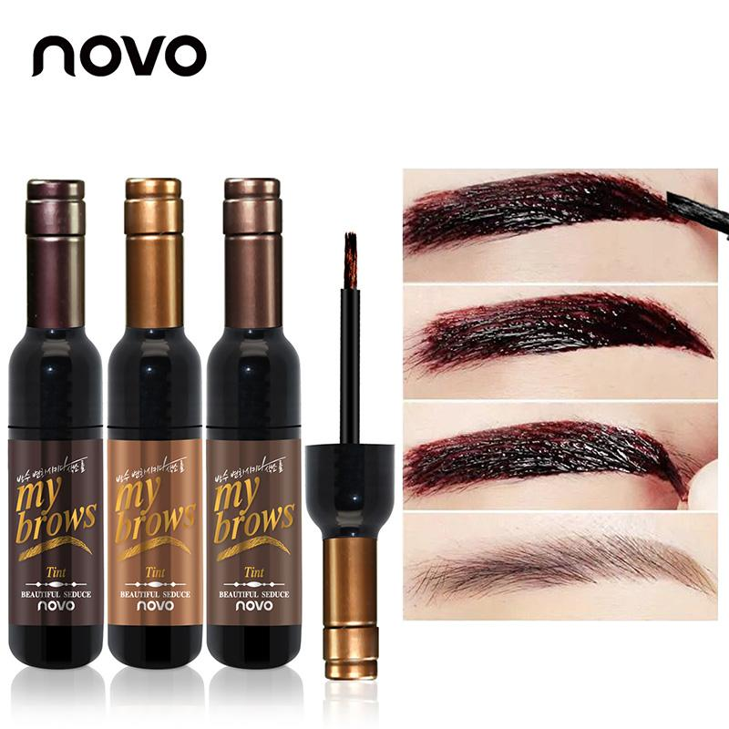 Wholesale Peel Off Dye Eyebrow Wax Paint Tint My Eye Brows Gel