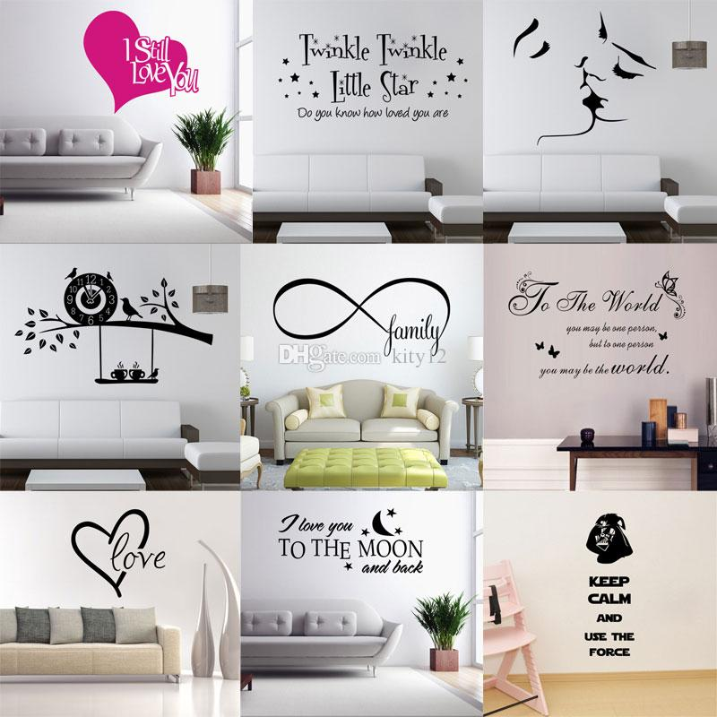 New Wall Quotes Decal Words Lettering Saying Wall Decor Sticker ...