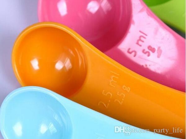 / quantité de lait à cuillère cuillère couleur café / set cuillère à mesurer des outils de mesure de cuisson