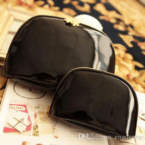 Mulheres marca famosa do floco de neve 3 pçs / set vaidade caso cosmético bolsa de maquiagem de luxo organizador bolsa de embreagem higiênico boutique presente VIP