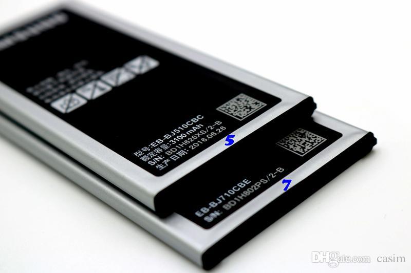 Высокое качество аккумулятор EB-BJ710CBE для Samsung Галактики главе J7 J5 на 2016 2016 год J7108 J7008 J5108 J5008 аккумулятор 3100mah/3300мАч