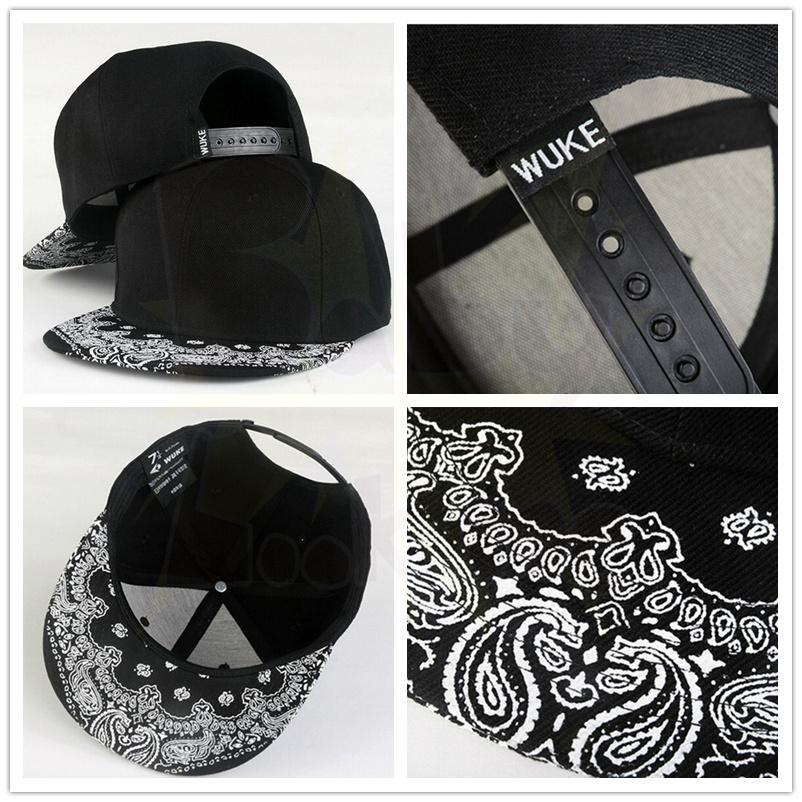 6a84fd7b0bc Wholesale New White Paisley Party Gift Christma Black Adult Snapback Hiphop  Hat Adjustable Baseball Cap Unisex Customized Party Favors Customized  Wedding ...