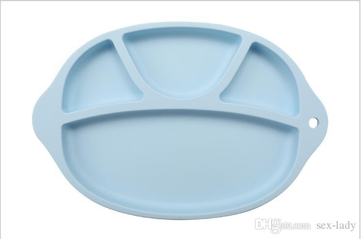 Baby bowls kids tableware One-piece silicone placemat Kid Pad Dining Table Mats baby eatingTray silicone cups dishes