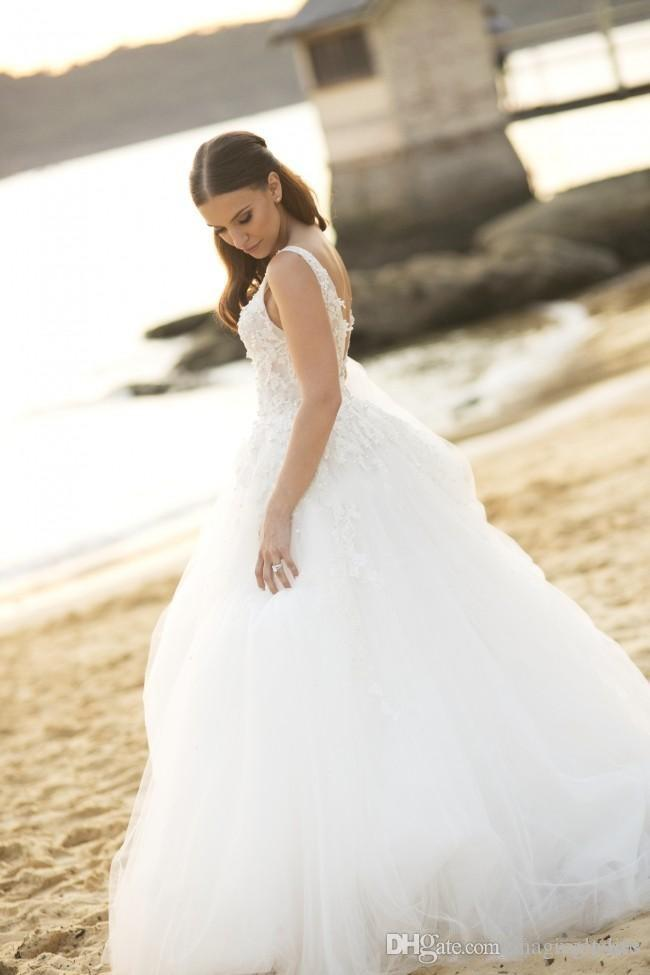 2017 Steven Khalil Due Pezzi 2 in 1 della sirena Abiti da sposa con rimovibile lungo su gonna treno Perle Abiti da sposa taglie forti a buon mercato