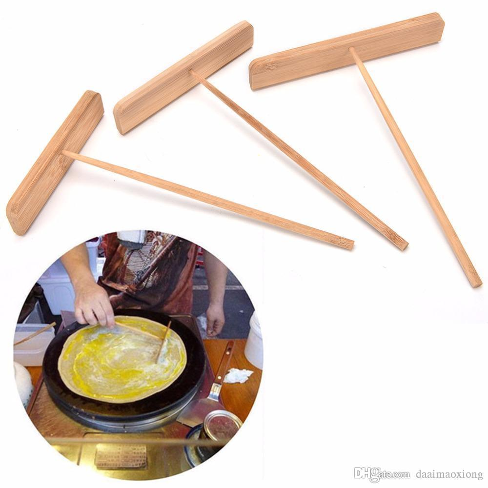 2017 3 size bamboo pancake stick crepe omelette cooking bamboo