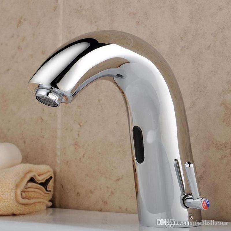 Discount Hotel Toilet Washbasin Faucet Automatic Sensor Faucet ...