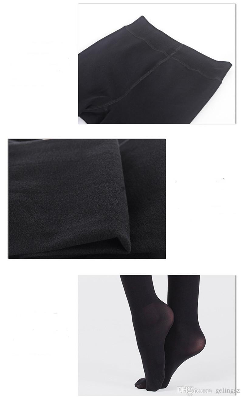 Premium Brand Women Thermal Tights Women 700D Velvet Plus Crotch Super Thin Warm Cashmere Pantyhose