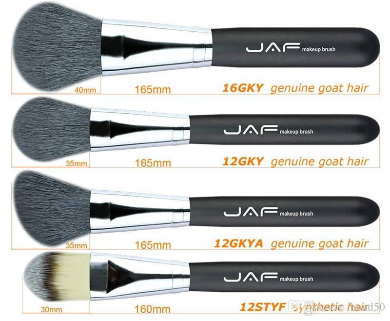 JAF Makup Brushes Premiuim Natural Hair of Goat Pony Horse Super Soft Makeup Brush Tool Set J20001