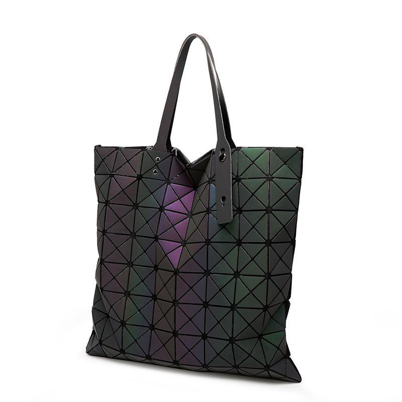 08ccb44365a9 Wholesale Luxury Brand Bao Bao Bag Women Handbags Luminous Geometric  Folding Elegant Shoulder Bags Big Tote Top BaoBao Hand Bag Satchel Handbags  Ladies ...