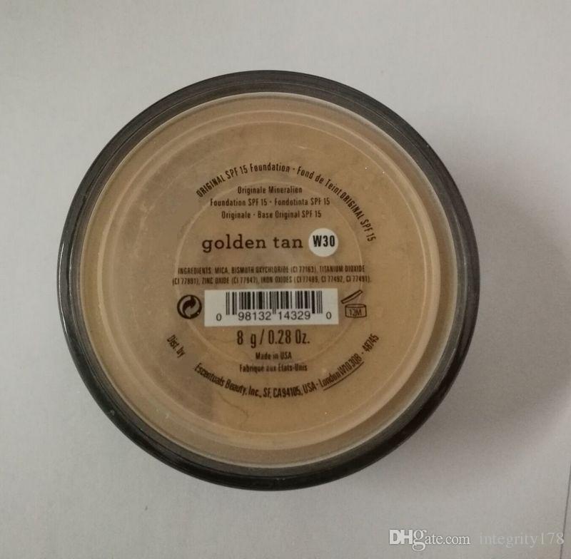 UK version makeup Minerals powder original/MATTE Foundation makeup powder with retail box DHL shipping free.