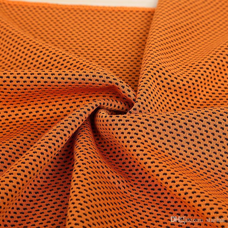 Asciugamano ghiacciato 88 * 33cm Raffreddamento Asciugamano estivo sportivo Esercizio Fresco Asciugamano rinfrescante morbido asciugatura rapida WX-T13