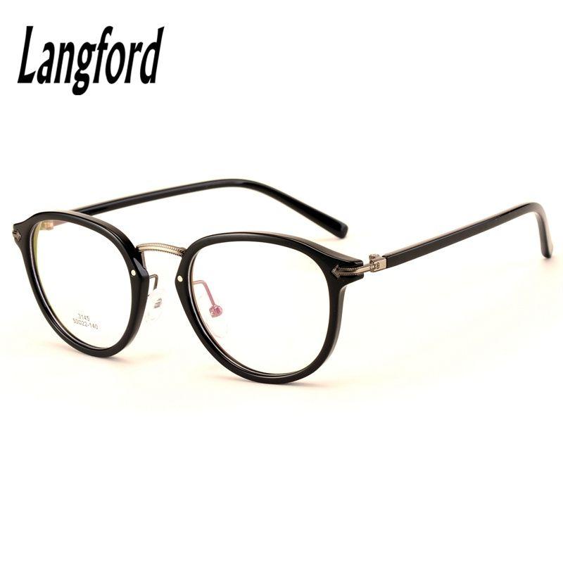 Favorite 2018 Wholesale Round Frames Vintage Big Hipster Glasses Optical  GE37