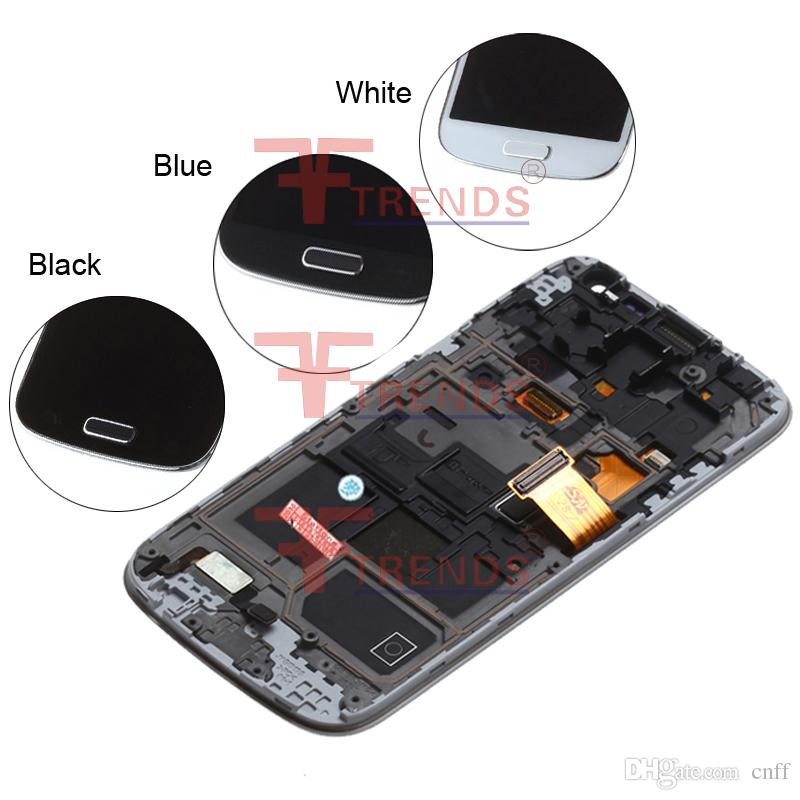 For Samsung Galaxy S4 mini I9190 I9192 I9195 Original LCD Display Touch Screen Digitizer Digitizer Full Assembly Repair