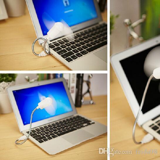 2017 Nieuwe Collectie Flexibele USB-poort Mini Koelventilator Mini Snake-vormige Ventilator Mute Zachte Bladeren Kleine Ventilator G613
