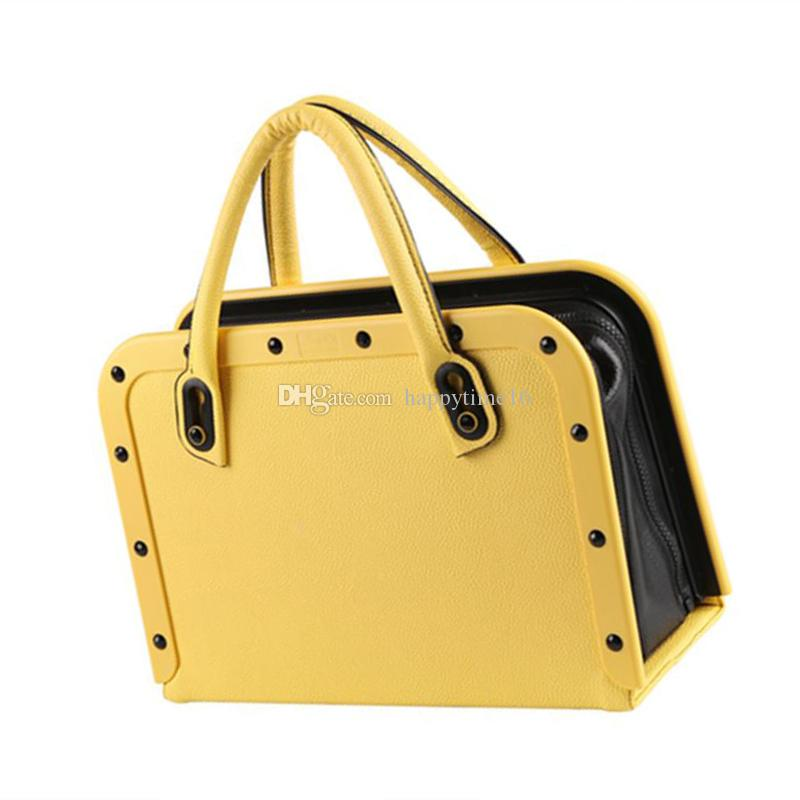 Newest Sex Machine Portable Handbag Yellow Remote Control 3 Vibrations 3 Thrusting Automatic Heat Dildo Bag Sex Machine Love Gun for Women