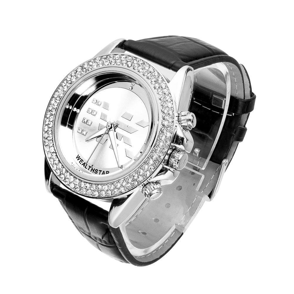 silver rhinestone case women luxuyry fashion sports quartz watches gold case women trendy dress watches large case women gift watches