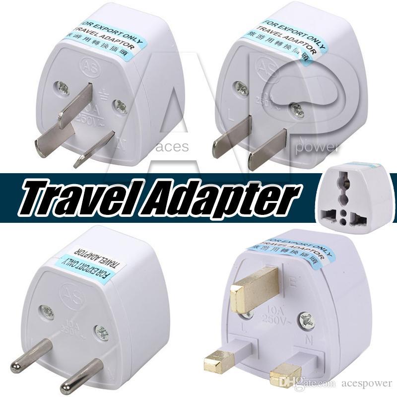 Adaptateur d'alimentation universel Adaptateur de voyage AU US EU UE UK Plug Adapter Adapter Convertisseur 3 Pin CA Power pour Australie Nouvelle-Zélande