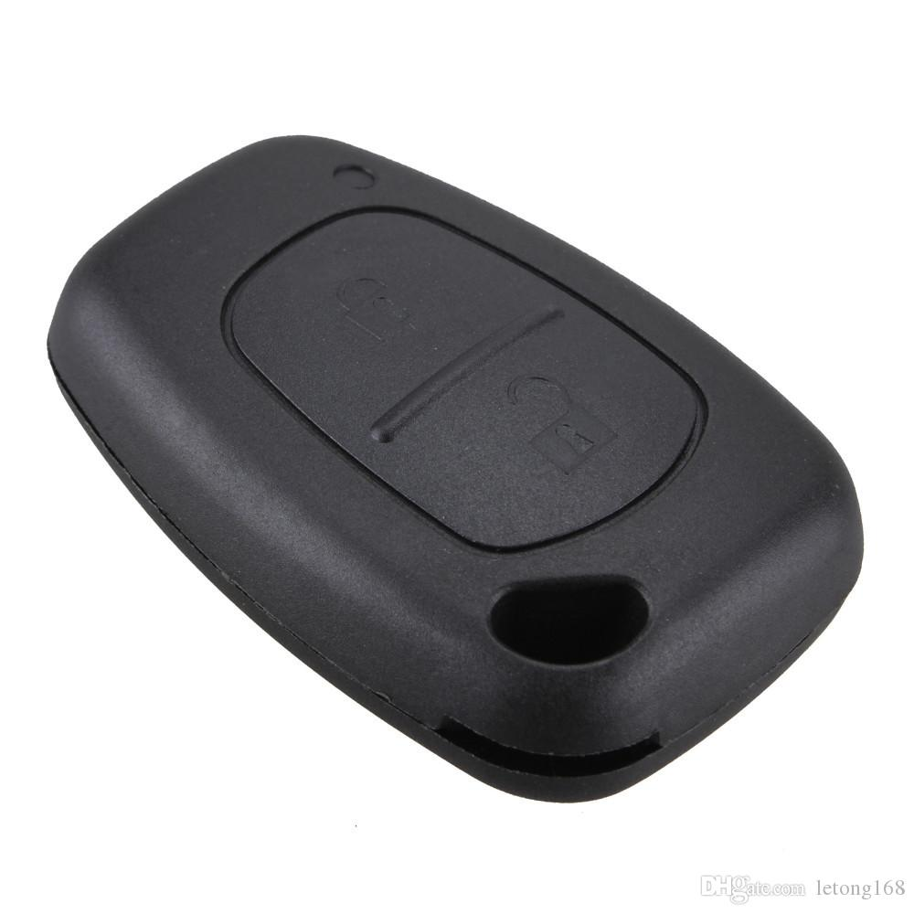 Guaranteed 100% Replacement 2 Buttons Remote Key Case For Renault Opel Vauxhall for Nissan Vivaro Traffic Primastar