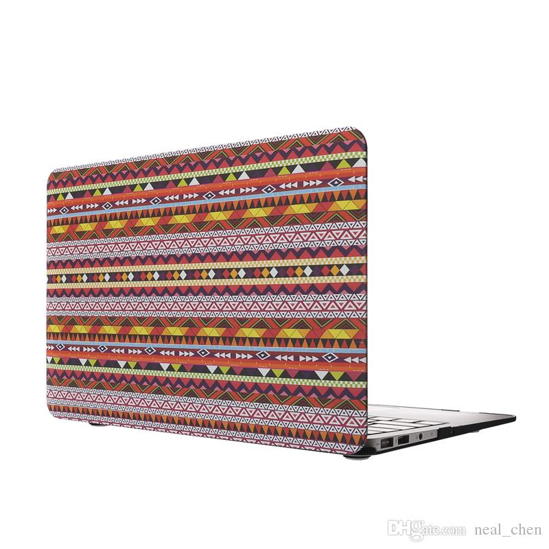 "Plastic Shell Bohemian Cover Case For Apple Macbook Air Pro Retina 11.6"" 13.3"" 15.4"" A1370 A1465 A1369 A1466 A1278 1286 A1398 A1425"