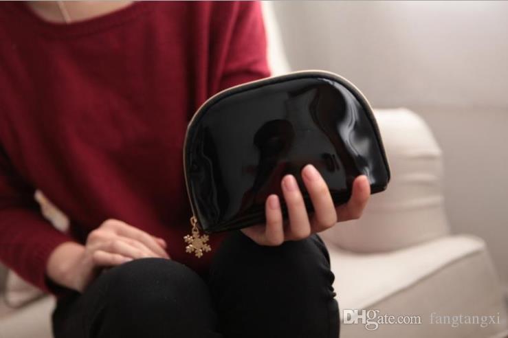 ¡NUEVO! Copo de nieve 3 piezas marca famosa funda cosmética organizador de maquillaje de lujo bolsa de belleza artículos de tocador bolsa de lavado bolso de mano bolso de regalo VIP