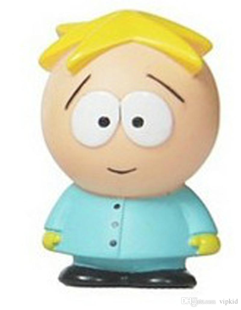 South Park Action Figures 6cm South Park car Doll Set PVC kids catoon toy
