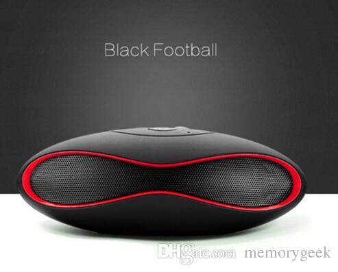 couleur mélangée nouvelle arrivée rugby mini bluetooth boombox sans fil Bluetooth haut-parleur récepteur portable radio audio FM Som Soundbar pour iPhone