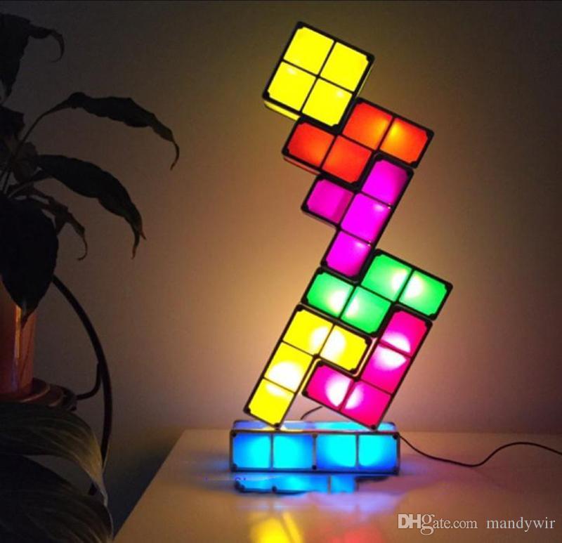 2017 New Usb Powered Version Magical Tetris Diy Constructible